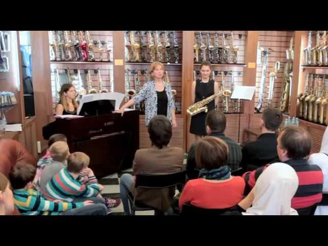 Тон задает саксофон. Александра Демьянченко. Мастеркласс.