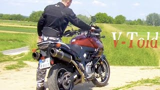 9. Suzuki V-Strom DL 1000 & Two Brothers exhaust