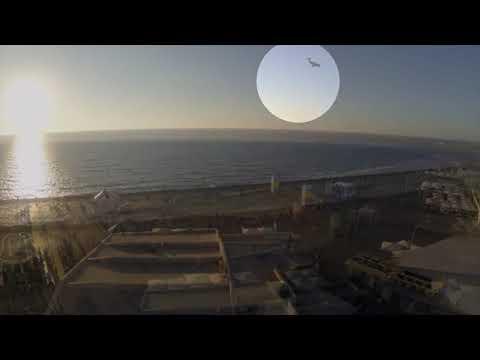 Drony uszkadzające samoloty