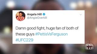 UFC Fighters react to Tony Ferguson insane fight with Anthony Pettis at UFC 229