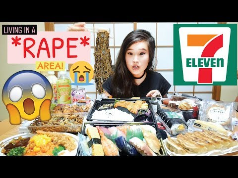 Japanese Convenience Store Food Challenge  E D A Horror Stay In Japan