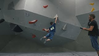 Swedish Bouldering Nationals - Qualification Day - Crew Competition by Eric Karlsson Bouldering
