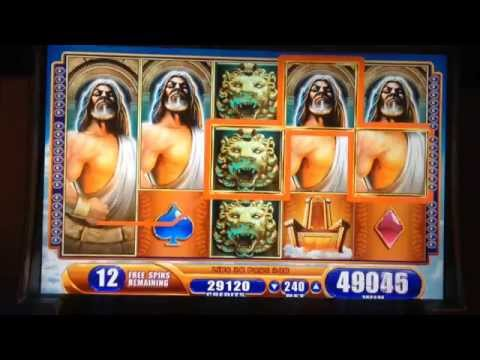 MAX BET- KRONOS slot machine MEGA BIG WIN BONUS