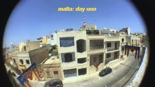 malta adventures: day one.