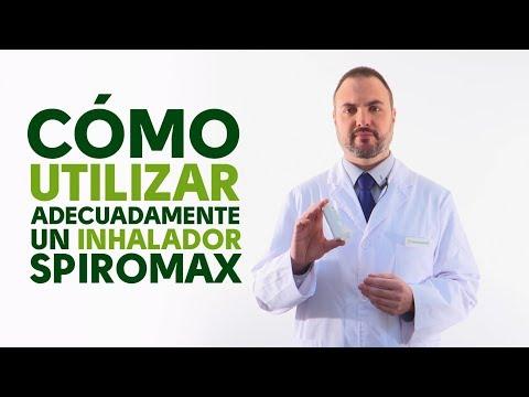 Cómo utilizar correctamente un inhalador Spiromax