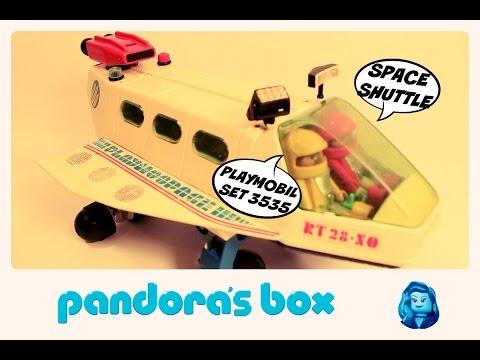 PLAYMOBIL PLAYMOSPACE - navette spatiale - 3535 -