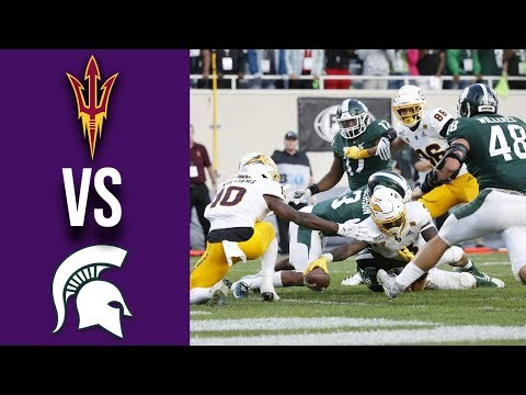 Week 3 2019 Arizona State vs #18 Michigan State Full Game Highlights 9/14/2019
