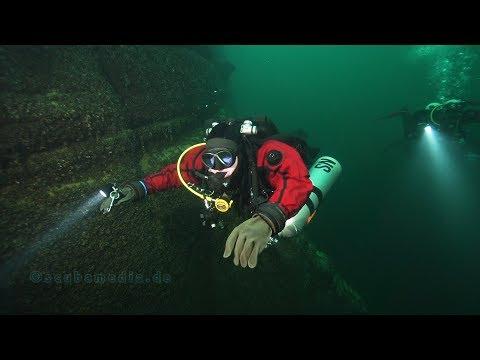Tauchen im Bodensee - Tiefenerfahrung