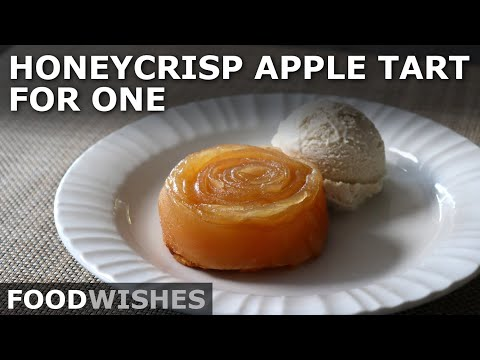 Honeycrisp Apple Tart for One – Easy No-Slice Tartlets – Food Wishes