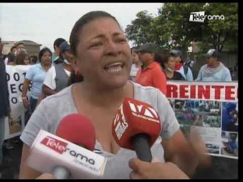 Ex trabajadores de salud protestaron exigiendo el reintegro laboral