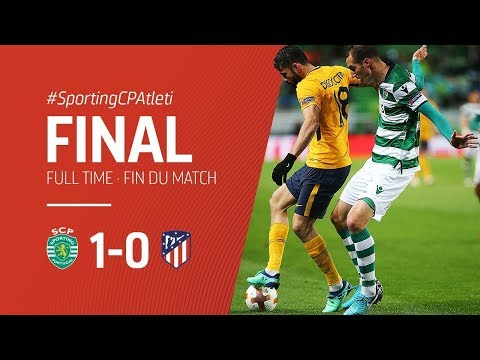 Sporting Lisboa vs Atletico Madrid 1-0 All Goals & Highlights 12/04/2018 HD