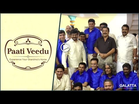 Actor Sivakumar launch Paati Veedu Hotel