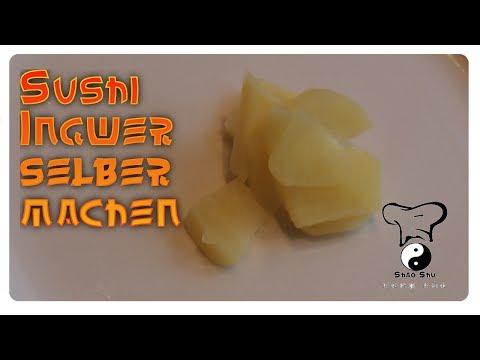 Sushi selber machen Lektion 1 Ingwer