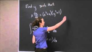 Differential Equation | MIT 18.01SC Single Variable Calculus, Fall 2010