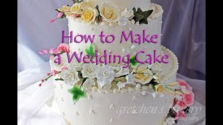 4 Fabulous Wedding Cakes for Beginners || Gretchen's Bakery by Gretchen's Bakery