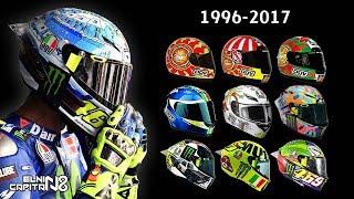 Video Desain Helm Valentino Rossi 1996-2017 ● Dari Awal Karirnya ● Elnino Capitano MP3, 3GP, MP4, WEBM, AVI, FLV April 2018