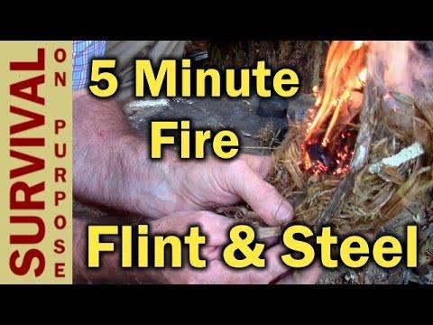 Flint and Steel 5 Minute Fire