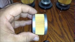 8. Polaris Series 11 oil filter comparison