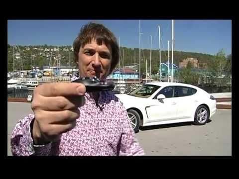 Porsche Panamera Тест Porsche Panamera