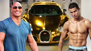 Video The Rock's Cars VS Cristiano Ronaldo's Cars ★ 2017 MP3, 3GP, MP4, WEBM, AVI, FLV Januari 2018