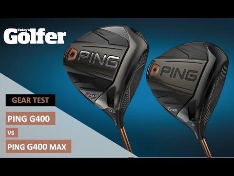 Ping G400 Driver vs Ping G400 Max Driver