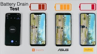 Samsung Galaxy M20 Vs Asus Zenfone Max Pro M2 Battery Drain Test | This was Very SHOCKING!!!😳😱