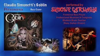 Simone Carnaghi performing Claudio Simonetti's Goblin - Phenomena (Bass cover)