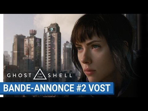 GHOST IN THE SHELL - Bande-annonce #2 - VOST [au cinéma le 29 Mars 2017]