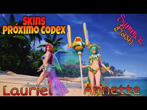 Codex 18, Skins Summer Bash Lauriel e Annette Arena of Valor AoV/RoV