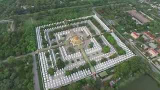 Mandalay Myanmar  city images : AERIAL VIEW OVER MANDALAY MYANMAR