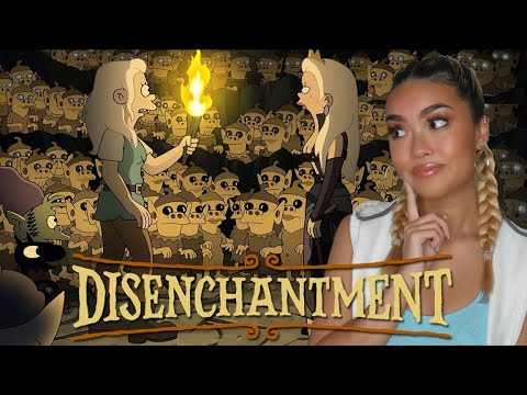 Uhhh what is CAVE JUICE please? | Disenchantment Season 3 REACTION | Monica Catapusan