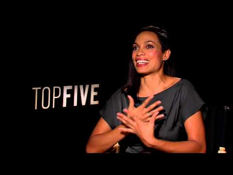 Rosario Dawson talks TOP FIVE tampon scene w/ Tino Cochino!