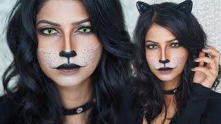 Easy Cat Makeup For Halloween!