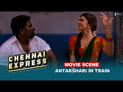 Antakshari In Train | Movie Scene | Chennai Express | Shah Rukh Khan | A Film By Rohit Shetty