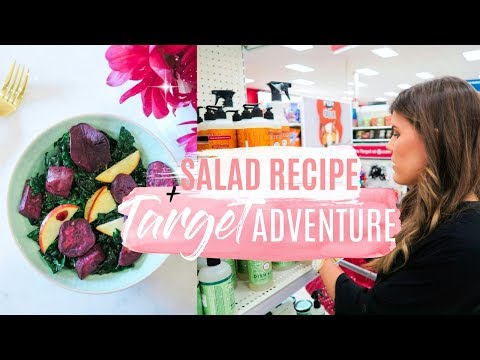 TARGET ADVENTURE! + Healthy Salad Recipe!