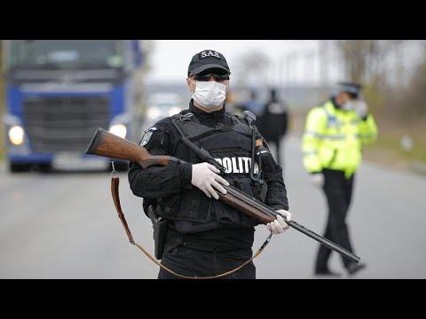 Καραντίνα και βία στους δρόμους της Ρουμανίας – Οι Ρόμα αρνούνται να εφαρμόσουν τις οδηγίες…