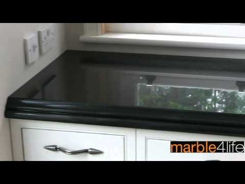 Black Granite Worktops