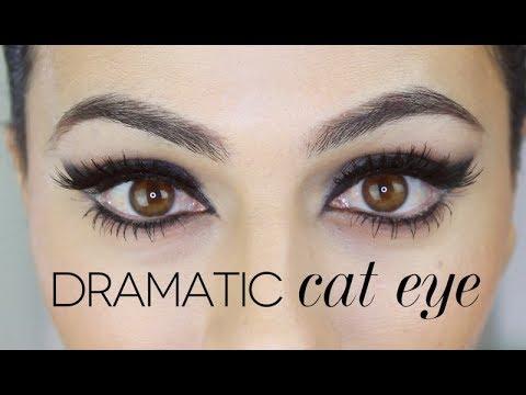 Sophia Loren Inspired Cat Eye Tutorial