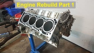 Video E55 Engine Rebuild - Part 1 (Teardown, Cylinder head / Crank Removal) MP3, 3GP, MP4, WEBM, AVI, FLV Juni 2018
