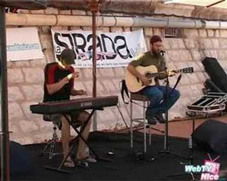 Spyd3R00 - Harrison Stafford & Marcus Urani from Groundation duo in Nice, France.
