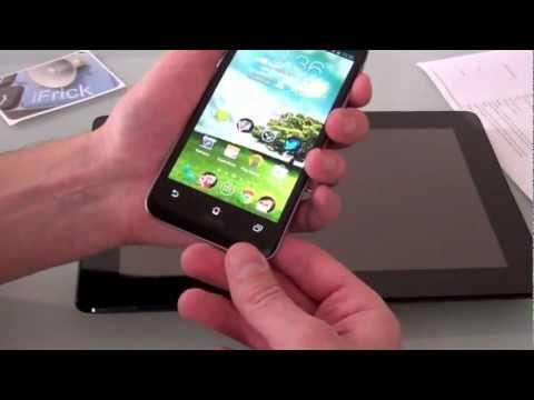 Youtube Video ASUS Padfone 2 64 GB in schwarz
