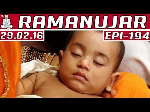 Ramanujar-Epi-194-Tamil-TV-Serial-29-02-2016-Kalaignar-TV-03-03-2016