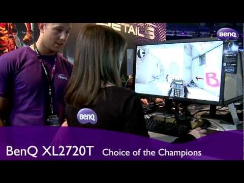 Benq - BenQ releases new XL2720T at Intel Extreme Masters Finals http://gaming.benq.com/gaming-monitor/xl2720t.
