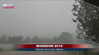 FOX 10 XTRA NEWS AT 7: Round 2 of monsoon viewer pics and videos