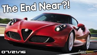 Alfa Romeo 4C Going or Staying?  New Cadillac models, Smart Car SUV - Fast Lane Daily by Fast Lane Daily
