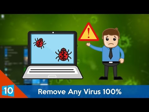 How to Remove Any Virus From Windows 10 For Free!