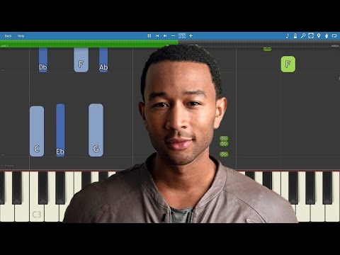 Love Me Now - John Legend video tutorial preview