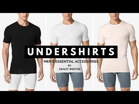 Best Undershirts For Men - Men's Essential Accessories - Tommy John, RibbedTee, Calvin Klein, Spanx