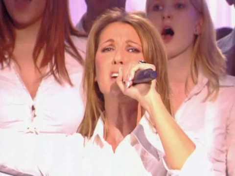 Celine Dion ft Johnny Halliday - l'envie (les 500 choristes, 5 nov 2005 live)