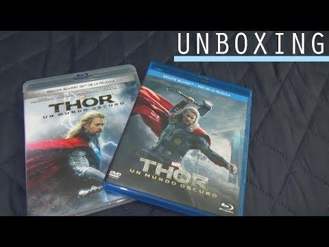UNBOXING | Thor 2 Un mundo Oscuro (3D + Blu-ray + DVD)